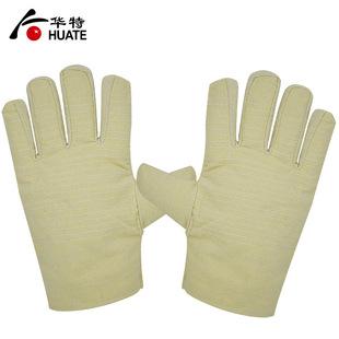 帆布手套 加大厚双层 耐磨防滑工地作业干活机械搬运防护劳保用品