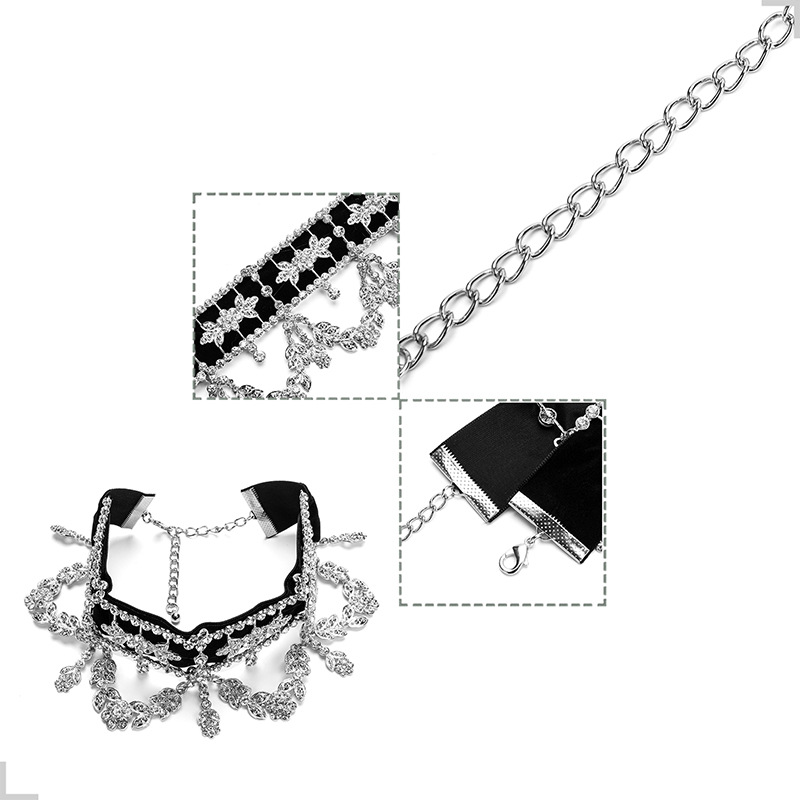 Other Alloynecklace Geometric (Silver)NHYT0779-Silver