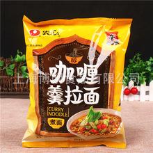 批发农心咖喱拉面 116g*40袋 韩国特色方便面速食泡面鲜蔬牛肉味