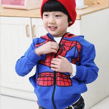 2020新款童裝蜘蛛俠連帽外套男童外套廠家直銷童外套加盟代理