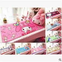 K*T 猫长方形地垫 美乐蒂卡通飘窗垫 双子星布朗熊防滑地毯