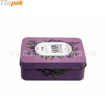 长方形马赛皂威廉希尔网页版手机登录 精油皂包装盒子 天地盖香皂铁皮盒定制厂家