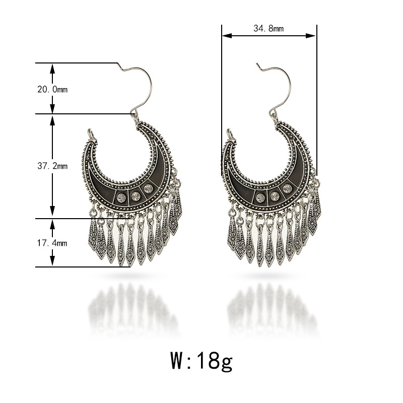 Fashion Alloy plating earring(Ancient gold)NHGY1587-Ancient gold