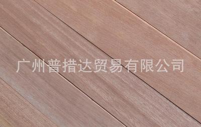 供应红巴劳 梢木户外料地板坯料特力发地板品牌直销红巴劳 梢木