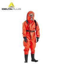 代尔塔 401036 ALEX A级外置气密重型防化服 防酸酸碱防火火阻燃