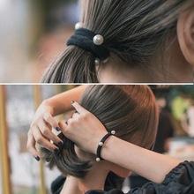 Dây buộc tóc thời trang, kiểu dáng thanh lịch nữ tính, phong cách Hàn