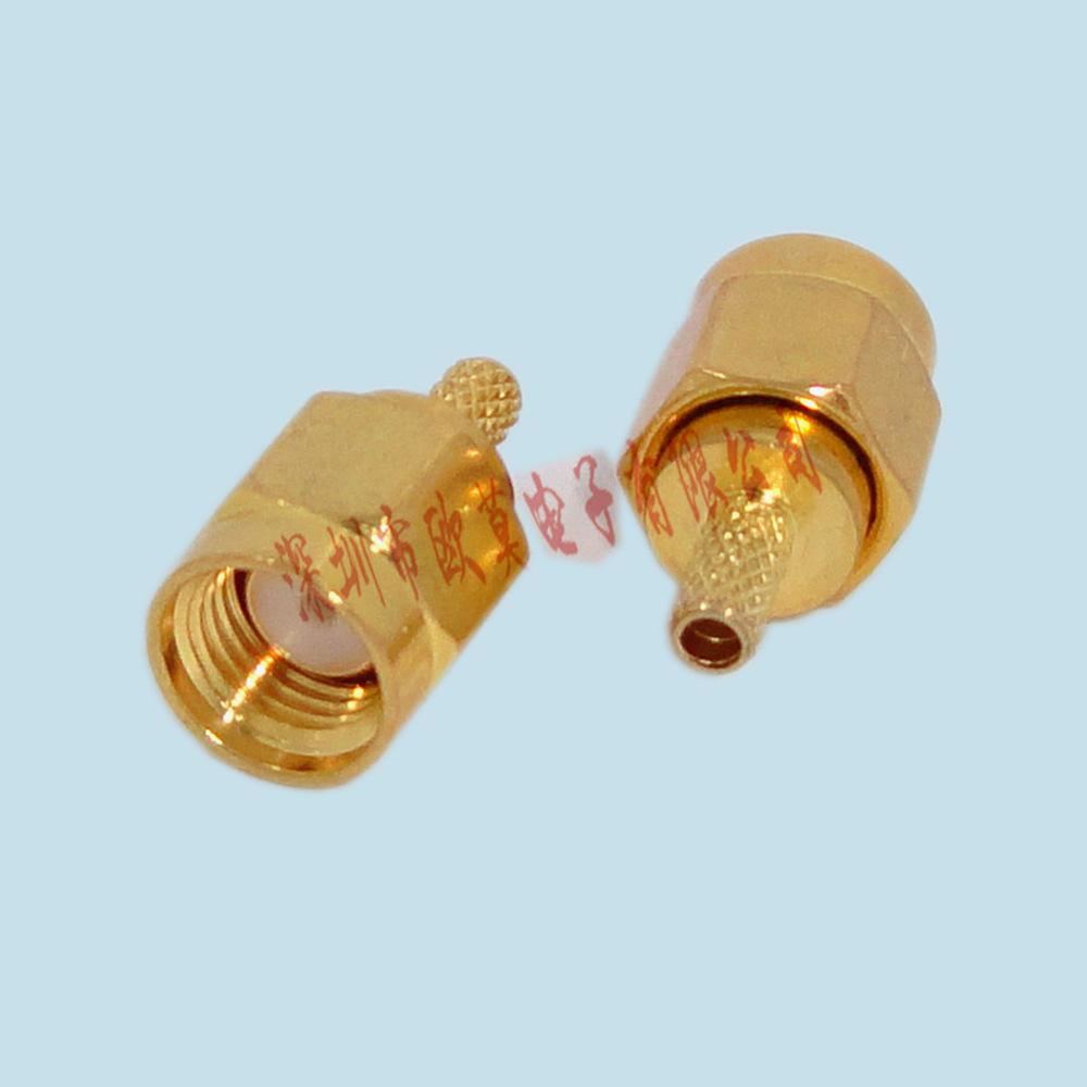 供应 F头射频同轴连接器 闭路天线电视TV接头 SMA连接器