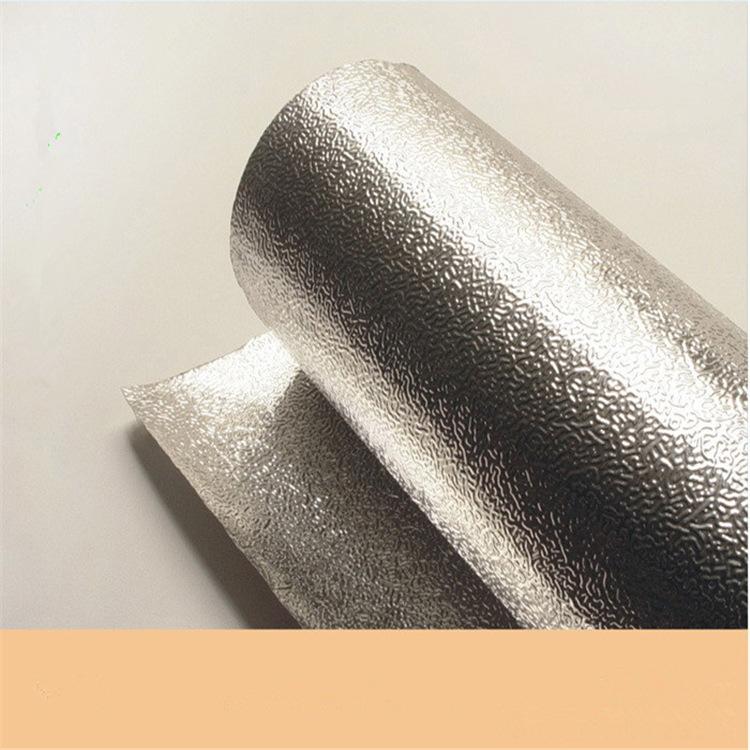 1mm金银卡铝箔纸板 冰箱背板替代 优选材质 AFC压花亮银铝箔纸板