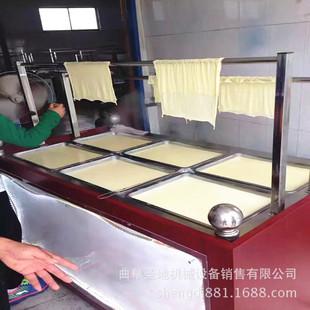专供休闲食品油皮机 图片豆制品加工设备 腐竹油皮机