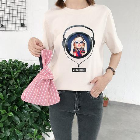 Phong cách Nhật Bản đơn giản thắt nút túi đeo tay túi đeo tay cong điện thoại di động thay đổi túi xách đơn giản