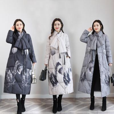 羽绒服2018年冬季时尚韩版气质休闲修身潮流优雅简约显瘦羽绒服