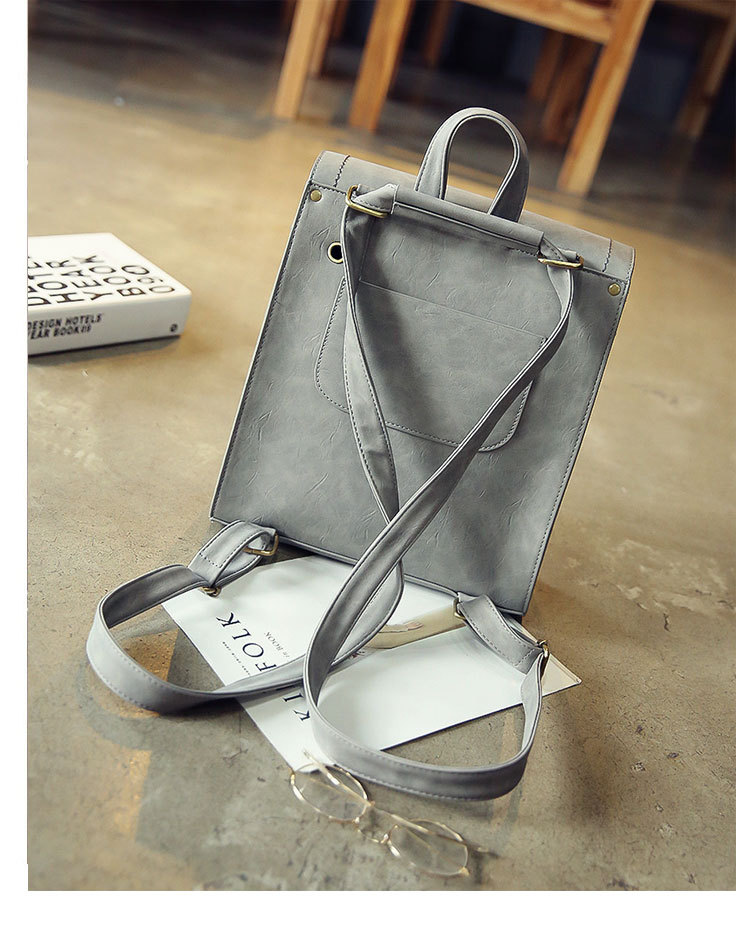 Korean version PUbackpack (gray)NHPB0576-gray