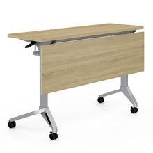 厂家直销长条培训桌 办公桌移动洽谈桌 简约会议桌学生培训台钢架