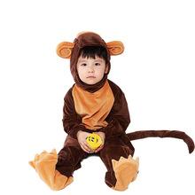 2018新款猴子装 动物扮演亲子装万圣节服饰 演出服cosplay欧美