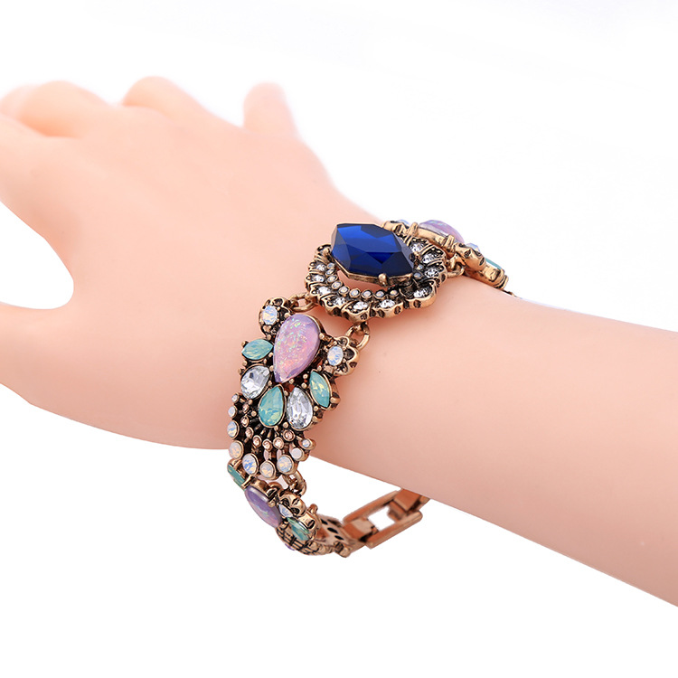 Occident and the United States alloy Diamond Bracelet NHQD4004
