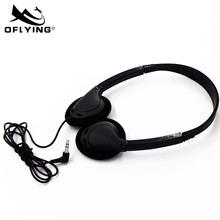 欧飞航空耳机 高品质通用降噪耳机 固定头戴式耳机OF-856