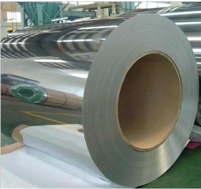 镀镍铁带SPCC镀镍钢片 2-4μ表面镀镍蚀刻304 3/4H镀镍不锈钢带