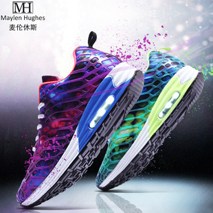 2017 Spring Summer New Korean Fashion Men's Women's Net Shoes Couple Sports Shoes Sneaker