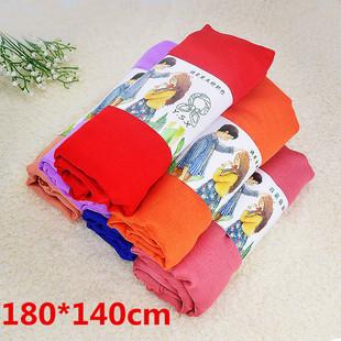 Cotton linen scarf women pure color wild spring and autumn silk scarf sunscreen beach towel large cotton linen silk scarf size 120*180