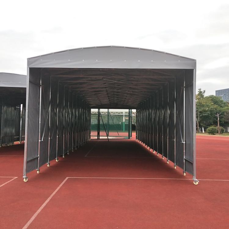推拉篷遮阳棚伸缩蓬折叠棚活动雨棚遮阳蓬移动推拉棚户外雨篷活动