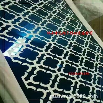 电梯轿厢 钛金镜面蚀刻花纹板 厅门镜面不锈钢蚀刻 201广州联众
