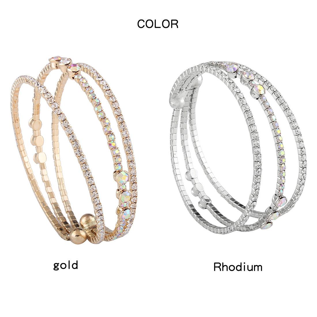 Occident and the United States alloy plating Bracelet (White k)NHNMD3764-White k