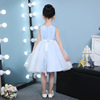 2017 new children Princess Dress Girls flower girl dress dress a summer Skirt Costume female host