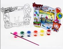 纷多乐晶彩画填色水彩创意相框5000H益智颜料玩具淘宝热卖代发