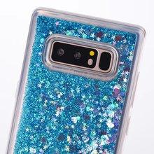 三星S10流沙手机壳闪粉流动液体全软包边NOTE9 TPU保护套DIY底壳