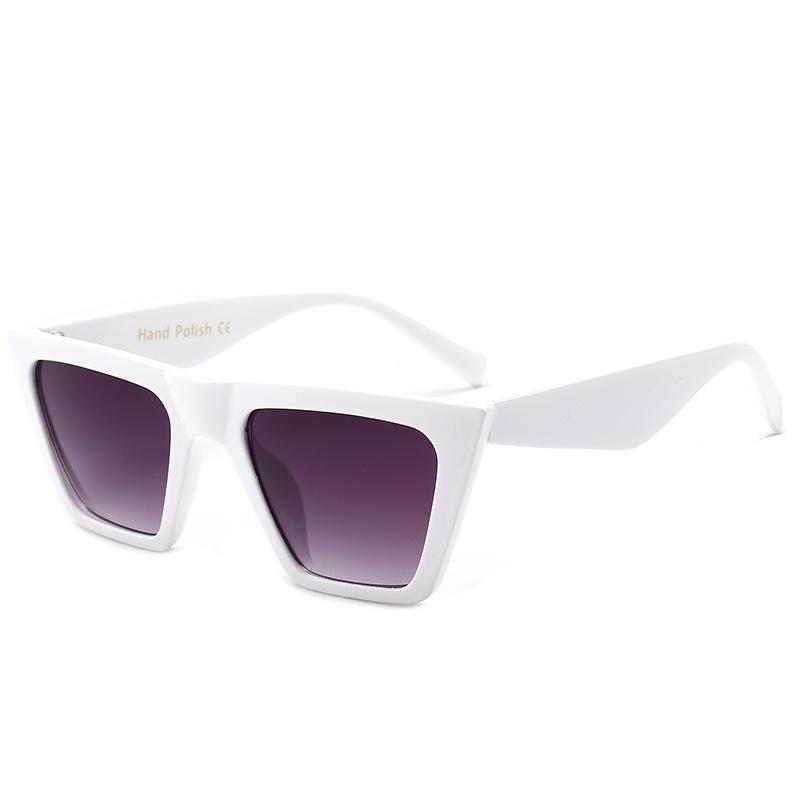 Màu ống kính: khung trắng gấp đôi mảnh màu xám