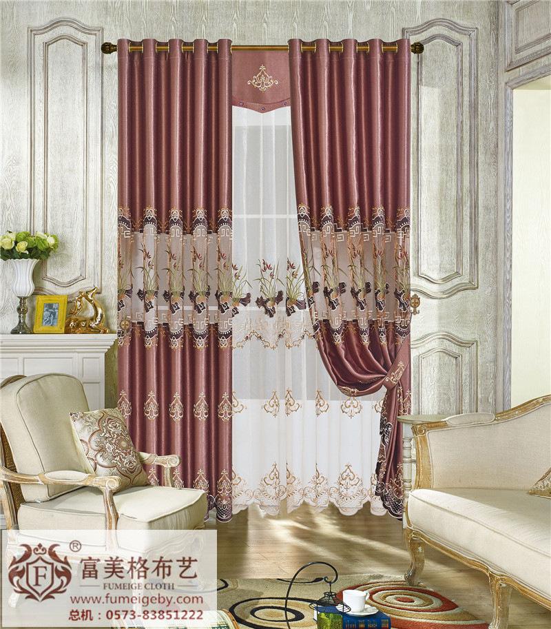 明清古典窗帘沧州加盟选择富美格韩式布艺 打造清凉家居