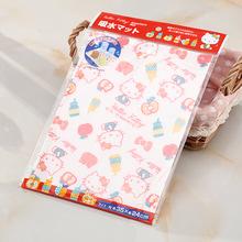 Hello Kitty餐具沥干吸水防潮垫 橱柜茶几餐桌用特价
