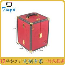 【精细工业级】可混批销售包装PU皮纸纤维板卡内托pu包装盒
