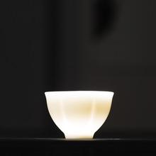 花瓣杯 厂家直销 中国?#23376;?#29943;高端茶具主人杯 品茗杯 普洱杯A9A10