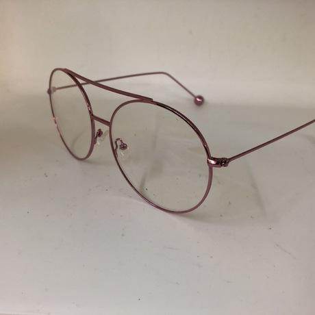 Nhà sản xuất gia công khung tròn thời trang cá tính gương phẳng nam nữ kính kim loại kính tròn