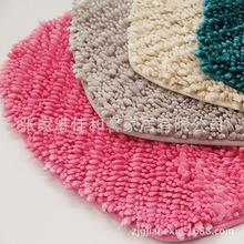 厂家直销外贸珍珠纱浴室防滑垫 珍珠纱1+3异形柔软地垫地毯批发
