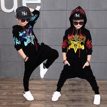 春秋季童装休闲运动男童套装春季2018新款儿童服韩版中大童两件套