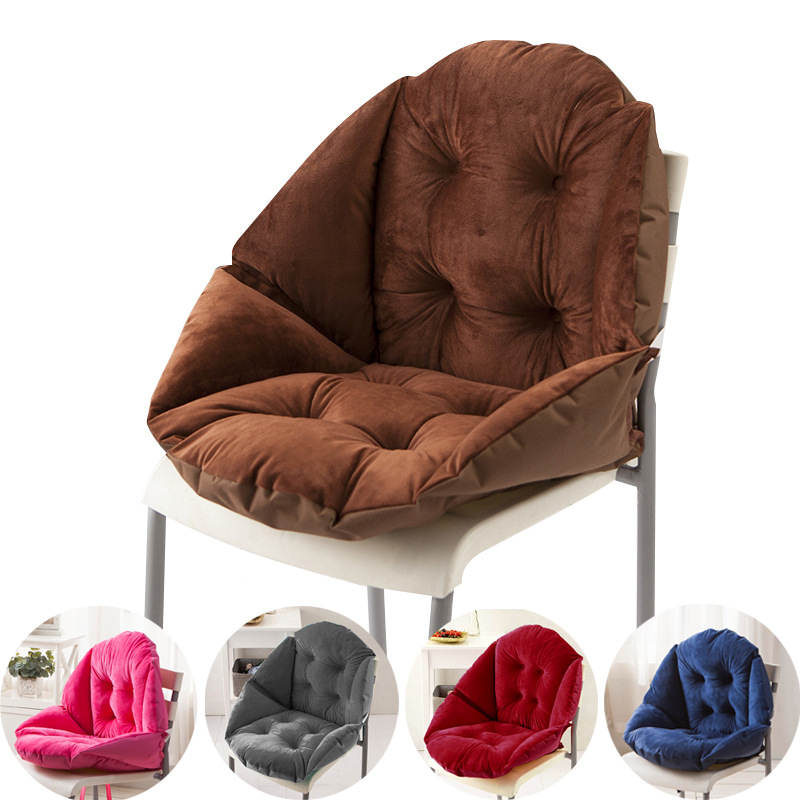 Office Cushion One-Piece Cushion Thickened Non-Slip Chair Cushion Breathable All Seasons Available