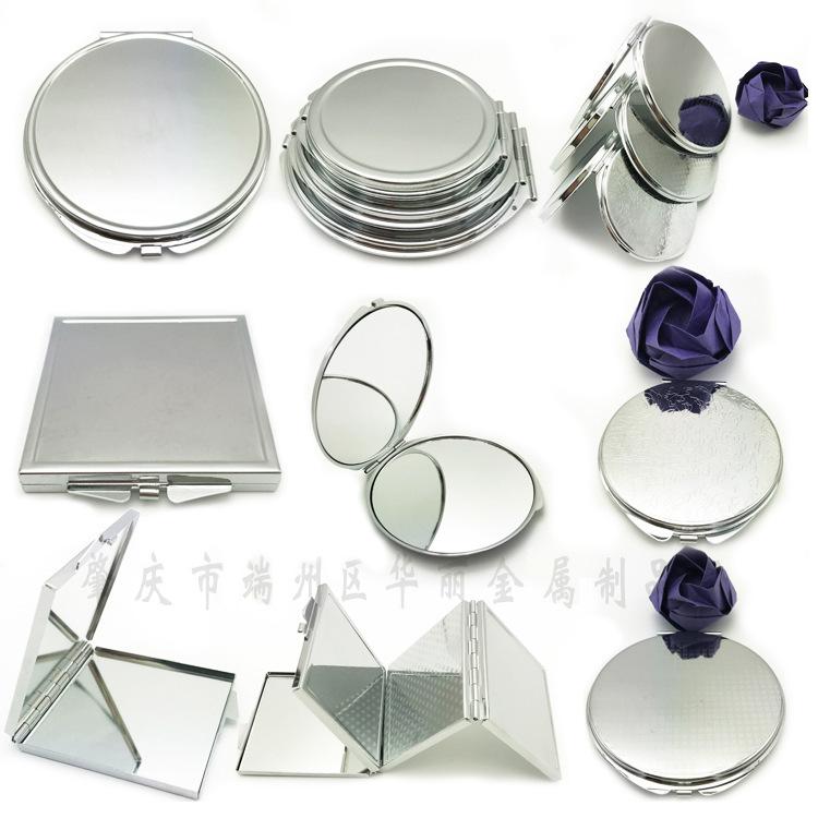 多款简易小镜子厂家直销 创意随身便携 折叠金属化妆镜 礼品定制