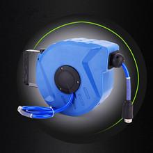 海耐自动伸缩卷管器PU夹纱气鼓水管绕管器厂家直销