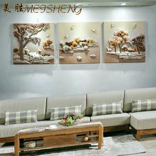 客厅无框装饰画批发 家居酒店树脂浮雕工艺画 现代立体手工装饰画