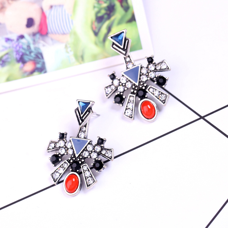 Alloy Fashion Geometric earring NHQD4385-Photo Color
