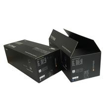 厂家定做黑色防静电彩色包装箱 出澳洲黑色电子彩箱定做