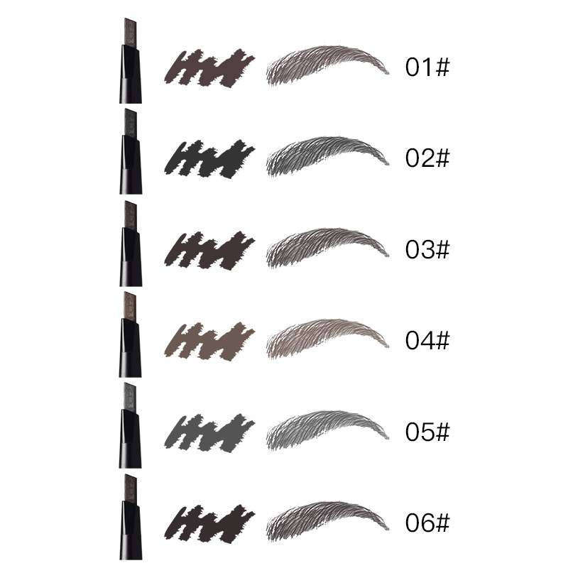 High Quality Double Eyebrow Brush Pencil Waterproof