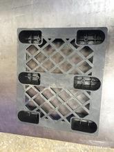 批發i網格卡板塑料托盤 網格六腳墊板 塑料棧板小型塑膠墊板