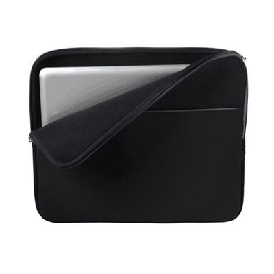 笔记本电脑内胆包 双层拉链潜水料保护袋 简约中拉SBR防振