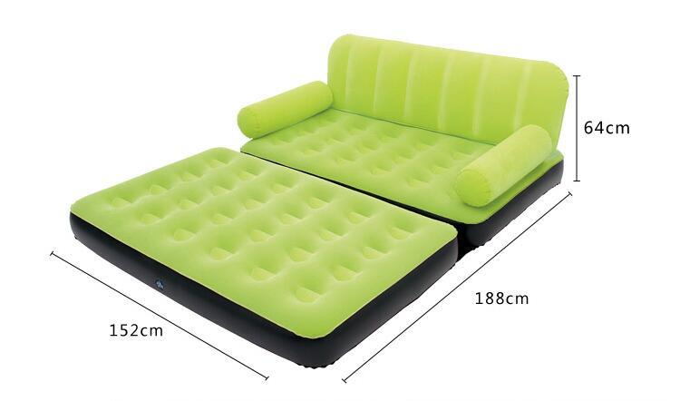 Bestway Inflatable Sofa Lazy Couch Inflatable Sofa Bed Double Home