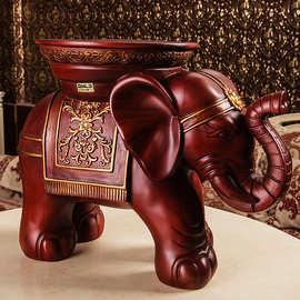 。招财客厅树脂门口大象凳欧式穿鞋凳子批发#穿鞋换鞋凳