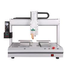 浙江热自动热熔胶点胶机价格 桌面式四轴自动热熔胶点胶机设备