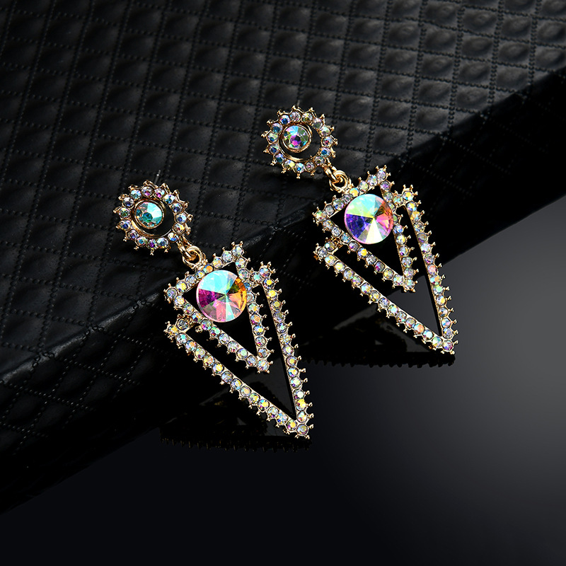 Occident and the United States alloy plating earring (61179394)NHLP0806-61179394